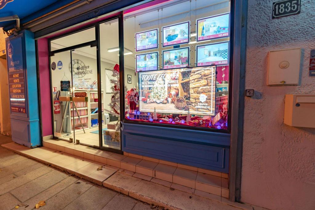 Pixel Impact écran vitrine digitale commerces et boutiques