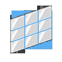 Pixel Impact Ecrans Haute Luminosité Vitrine Digitale : Mur D'écrans