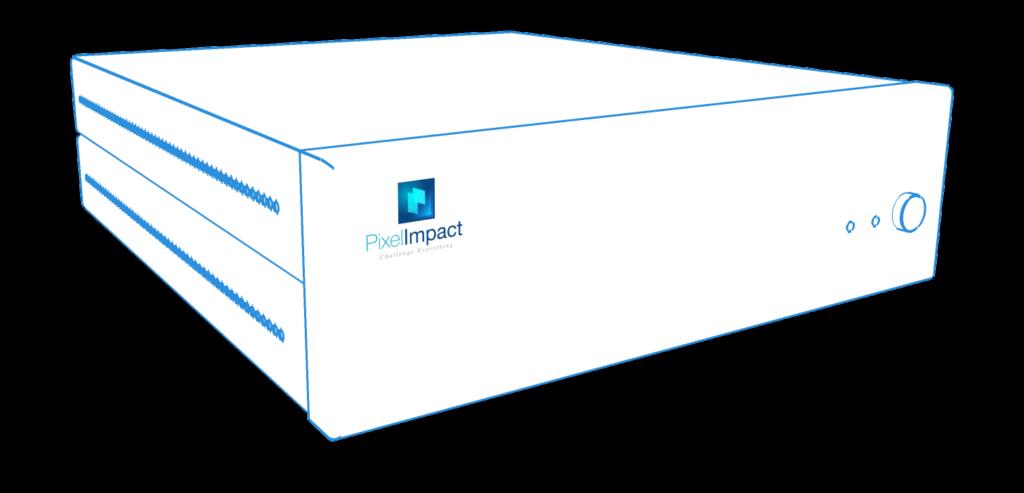 Affichage dynamique Pixel Impact boitier player