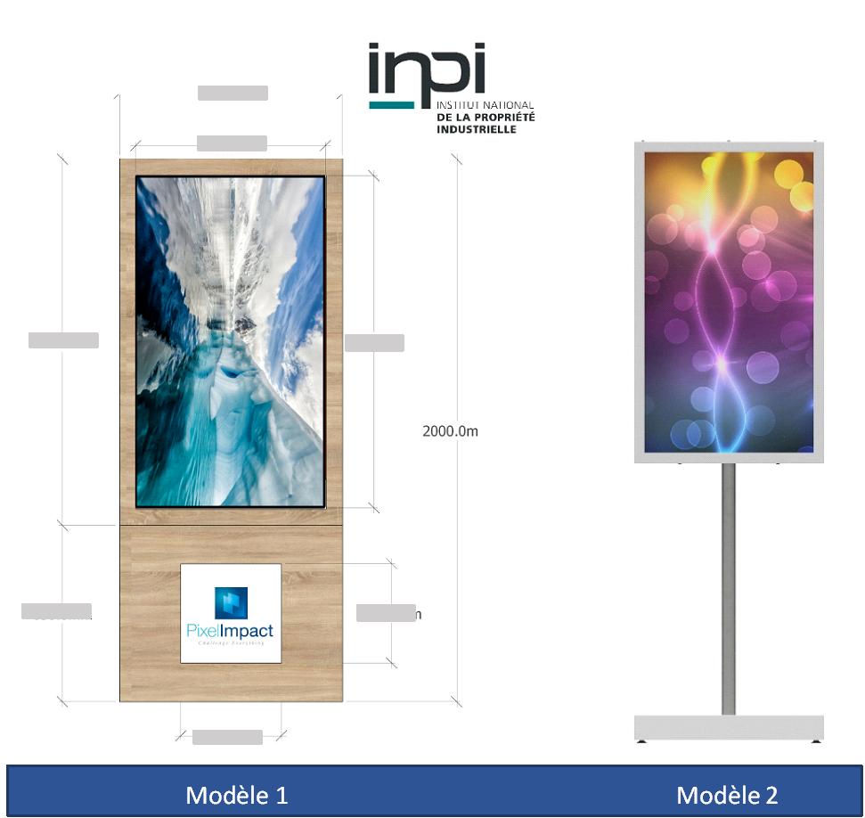 Affichage dynamique Pixel Impact Ecrans haute luminosité Support écran sur mesure